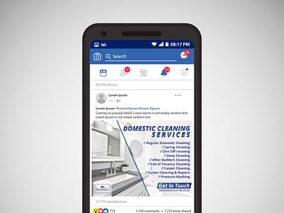 Facebook Post Design facebook cover facebook banner facebook ad vector logo branding design flyer bi-fold