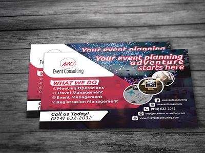 Event Management Postcard Design postcards services event management event postcard design postcard flyer
