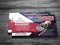 Event Management Postcard Design