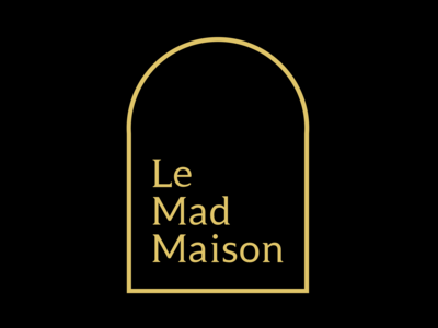 Le mad maison logo design