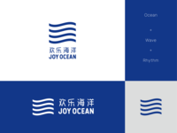 Joy ocean logo design