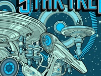 Promotional Poster for J.J. Abrams Star Trek