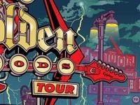 Revolver Road to Golden Gods Tour Poster