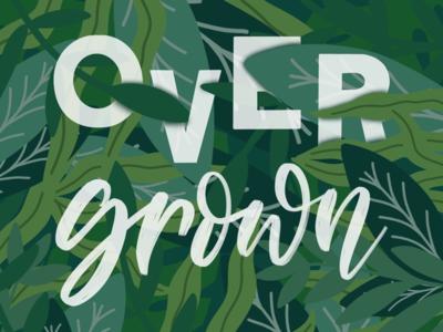 Inktober Day 14 - Overgrown
