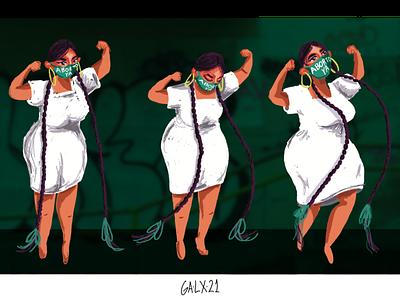 ABORTO YA mexico woman photoshop adobe wacom digital illustration illustration aborto ya