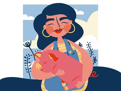 susana vector woman wacom adobe digital illustration illustration