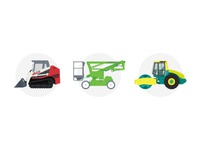 Equipment Hire Illustrations