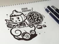 The Monkey King Sketch