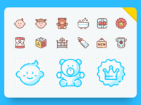 The whole icon set of Firstgive