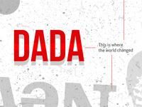 DADA , The Beginning