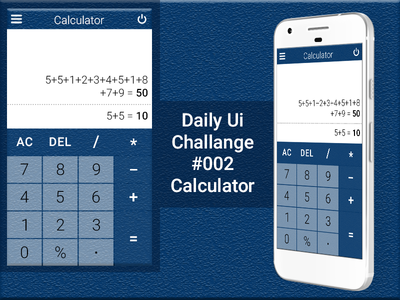 Daily Ui 002 Calculator calculator daily-ui-design-challenge ui-design