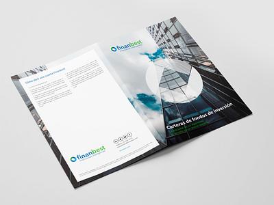 Finanbest Brochure print illustration graphicdesign designstudio designer creative business brochuredesign brand advertising