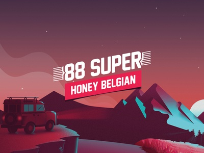 88 SUPER. Branding and Packaging