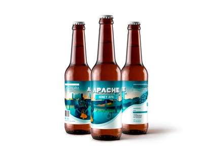 APACHE. Branding and packaging design