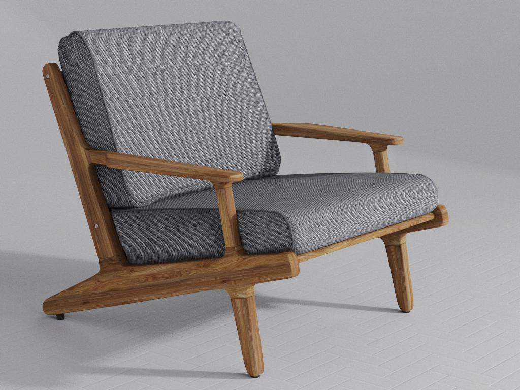 Lounge Chair chair cgi 3d