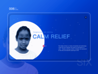 Calm relief