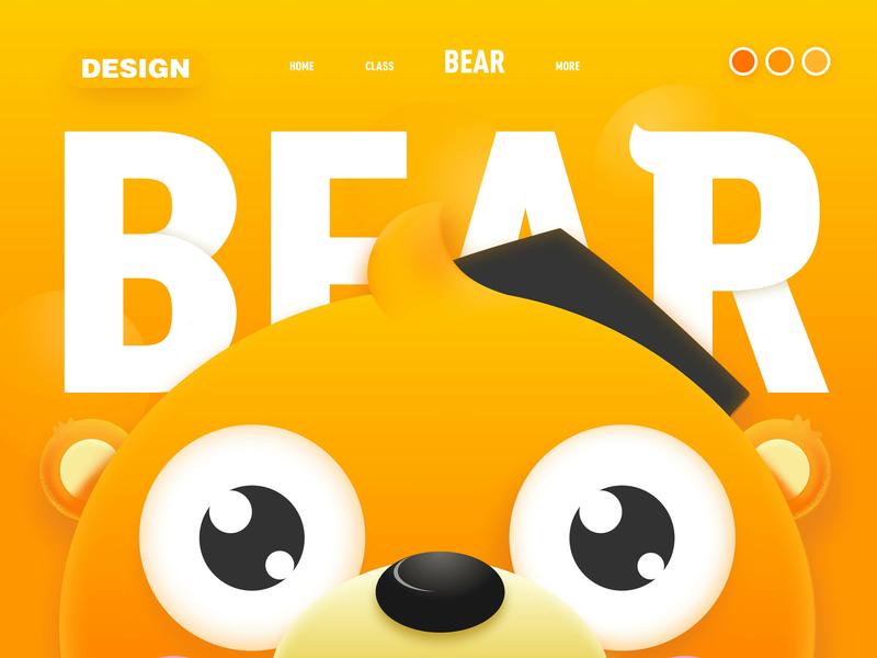 Brand image ux animal typography ui desgin visual designer vision plane ui design app