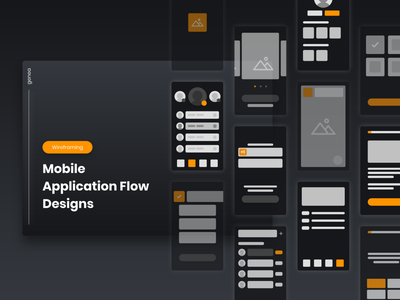 Mobile Application Flow system diagram flowchart mobile flow app flow application flow flow ui ux mobile app design design mobile app mobile ui design ux design wireframing adobe xd