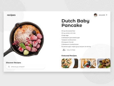 Recipe App food recipe web web design design wireframing ux ui ui ux ux design ui design ui  ux desktop app adobe photoshop adobe xd food app recipe app