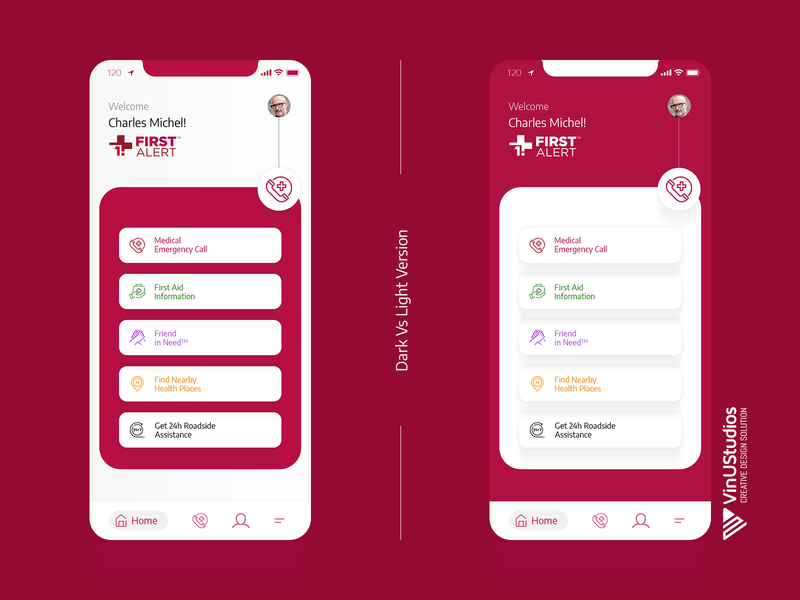 Get First Alert App Redesign