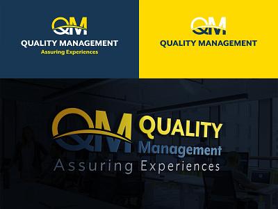 Quality Management Logo Design iconic logo icon mockup logo design