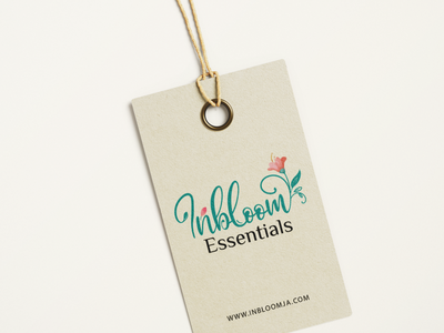 Inbloom Essentials Logo design corporate branding corporate identity branding logo design inbloom essentials logo design