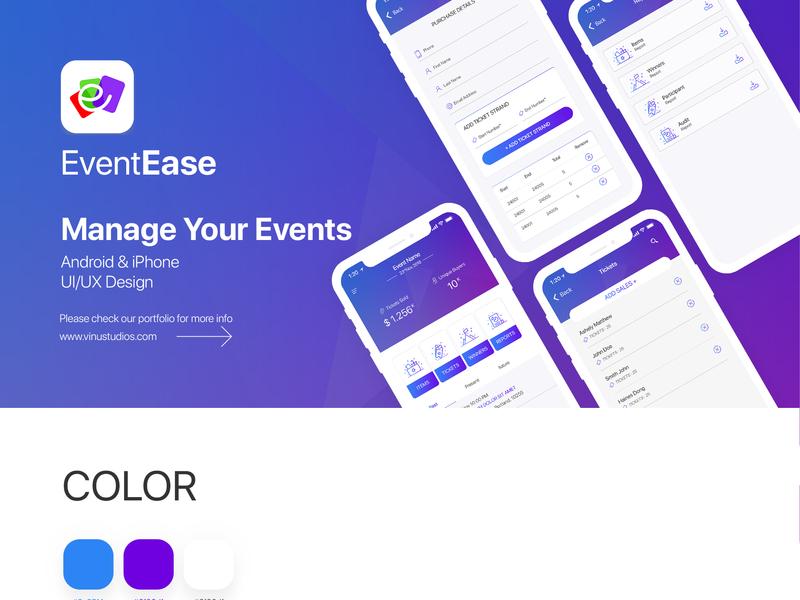 App UI logo design flat design event management app event app wireframe ux design ui design iphone app ui android app ui app ui