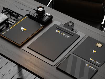 VinUStudios Logo Design