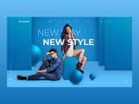Fashion Web UI/UX