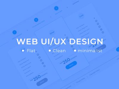 Web UI/UX Design