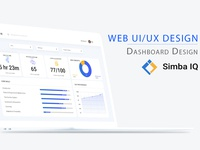 Simba IQ Dashboard Design