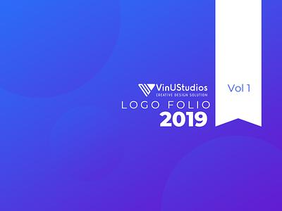 logo folio 2019 brand identity design emblem logo design logo symbols pictorial marks wordmarks text logo iconic logo minimalist flat logo design