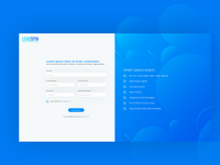 LoadSpin Sign Up UX