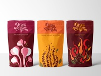 Hot spices packaging