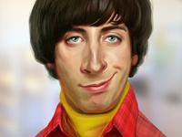 Simon Helberg portrait