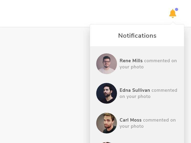 Daily UI #049 daily ui 049 daily ui ux ui design daily challange notifications
