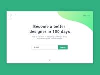 Daily UI #100