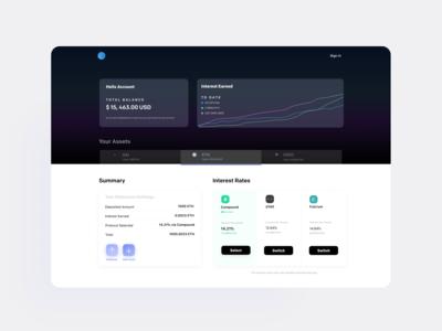Crypto Lending Platform