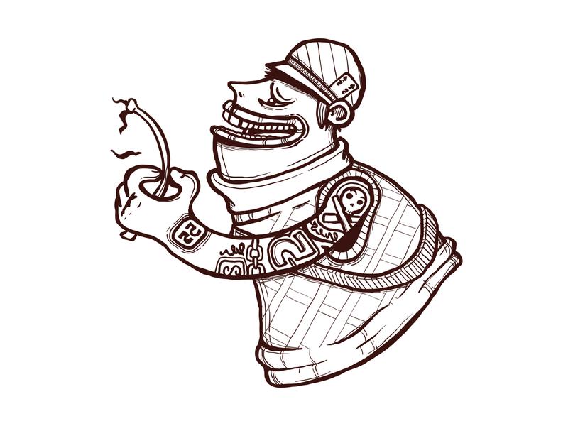 Wilting Rose vectorillustration characterdesign character illustrator design vector illustration