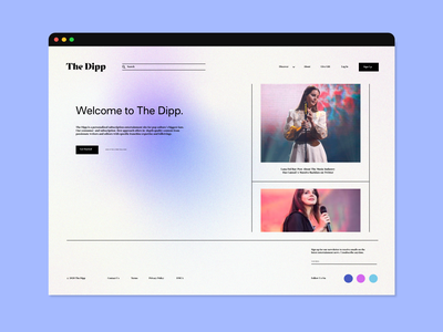 Subscription News Platform UI - Light Mode light mode platform subscription news entertainment interactive prototype wireframe website web design screen adobe xd user research ux