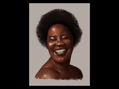 Study #3 drawing portrait girl graphic design illustration digital painting procreate digital
