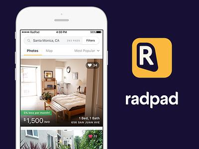 RadPad for iOS v4.0 design ios radpad