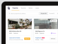 RadPad Dashboard for Landlords