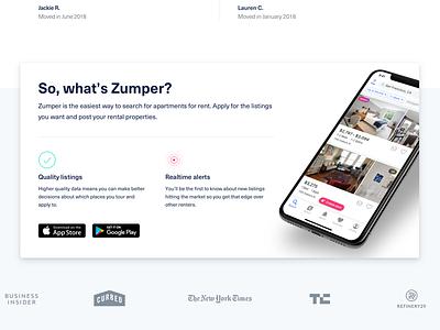 Zumper Homepage Iteration