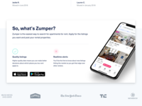 Zumper Homepage Iteration