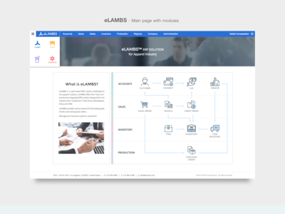 eLAMBS - ERP software for apparel industry