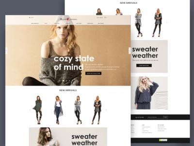 Myesper Apparel website
