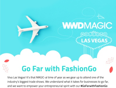 FashionGo Newsletter design