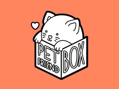 PetFriendBox Logo Design