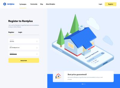 Rentplus | Half Register